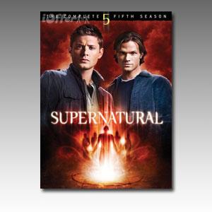 Supernatural Season 5 DVD Boxset