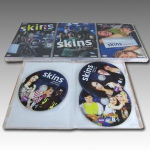 Skins Seasons 1-4 DVD Boxset