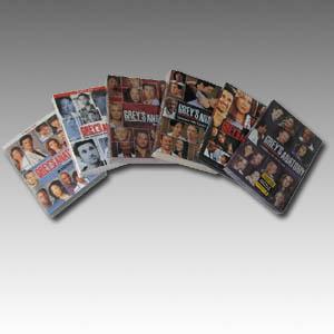 Grey's Anatomy Seasons 1-6 DVD Boxset