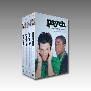 Psych Seasons 1-4 DVD Boxset