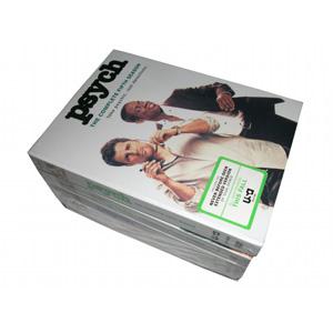 Psych Seasons 1-5 DVD Boxset