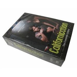 Californication Seasons 1-4 DVD Boxset