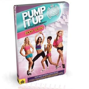 Pump It Up Body Burn Workout DVD Box Set