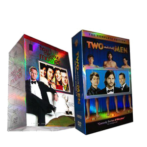 Two and a Half Men Seasons 1-9 & How I Met Your Mother Seasons 1-7 DVD Box Set