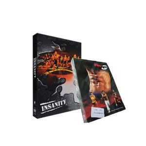 Insanity Workout is a 60 day total body & REV ABS Your 90-Day Ab Solution DVD Box Set