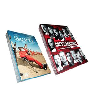 House MD Season 8 & Grey's Anatomy Season 10 DVD Box Set