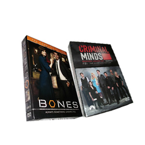 Criminal Minds Season 9 & Bones Season 9 DVD Box Set