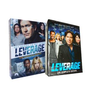 Leverage Seasons 1-5 DVD Box Set