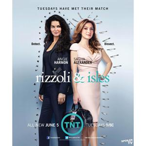 Rizzoli & Isles Seasons 1-3 DVD Box Set