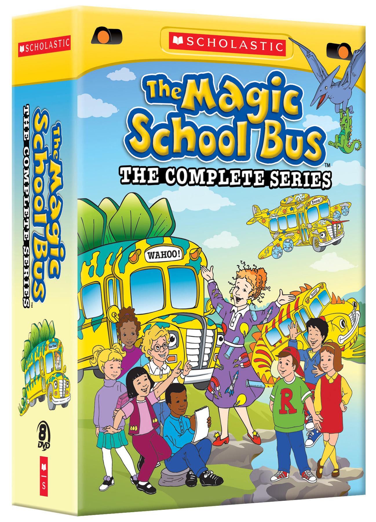 The Magic School Bus Complete Series 1-4 DVD Boxset