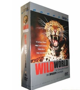 BBC Wild World DVD Box Set