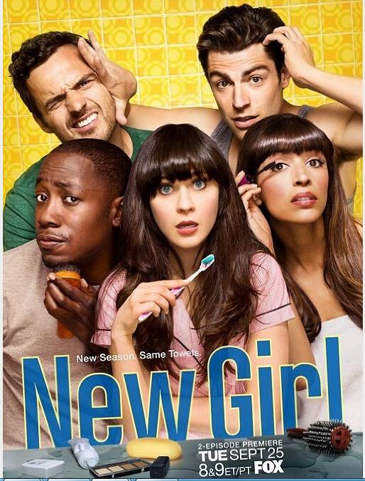 New Girl Seasons 1-3 DVD Box Set