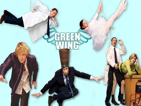 Green Wing Season 1 Dvd Boxset